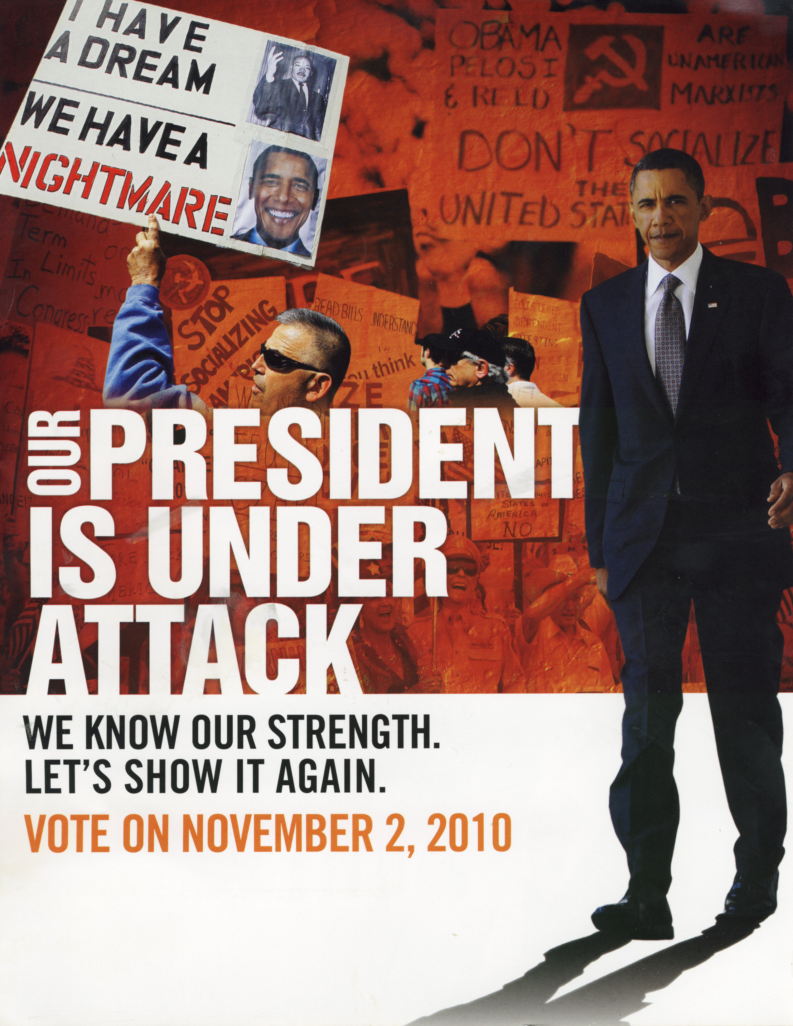 forget post racial politics naacp election flyer incites the base