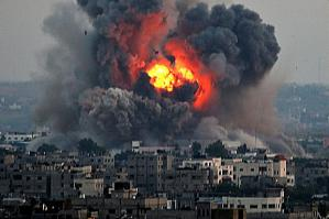 Israel doesn't exactly build good will by bombing civilian targets in Gaza