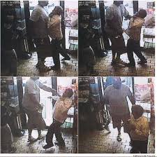 Victim, thug or both: store video captures Mike Brown roughing up a clerk after stealing cigars.