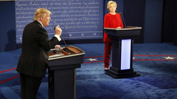 la-na-clinton-trump-presidential-debate-photos-20160926